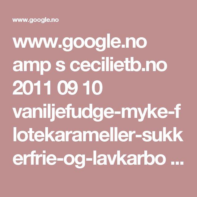 www.google.no amp s cecilietb.no 2011 09 10 vaniljefudge-myke-flotekarameller-sukkerfrie-og-lavkarbo amp