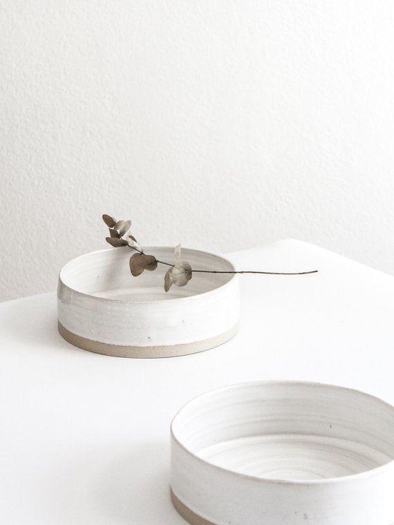 AFFILIATELINK | Keramik Set CREME / Keramik Schüssel, Keramik Tasse /  Keramik Hundenapf, Skandinavisch