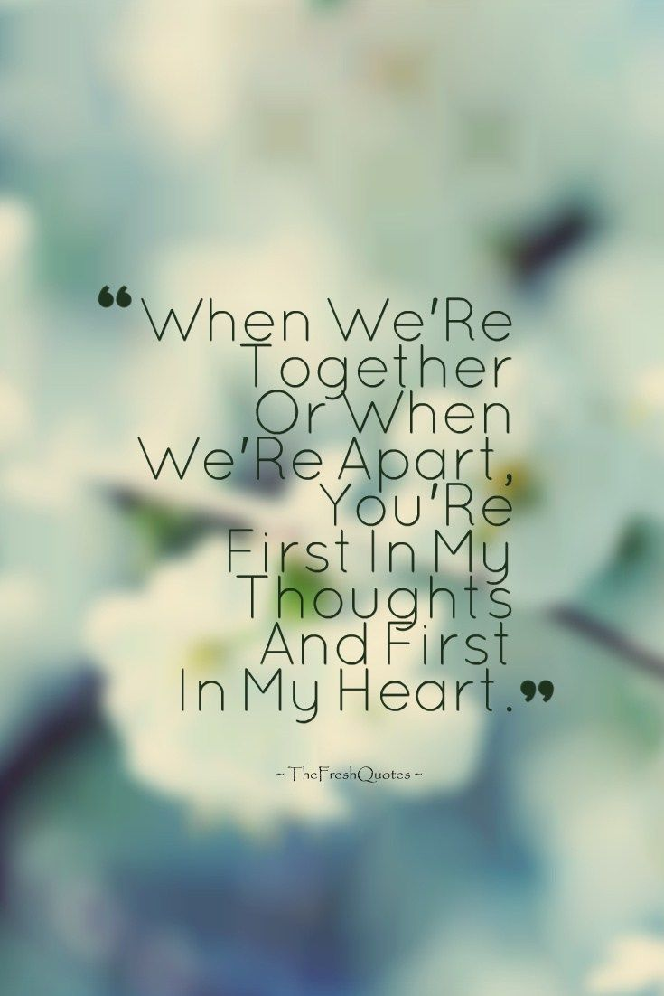 35 romantic thinking of you quotes and messages our love