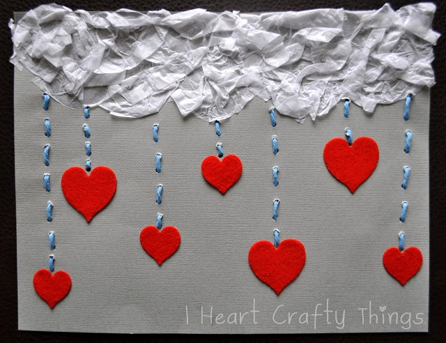 I HEART CRAFTY THINGS: The Day it Rained Hearts