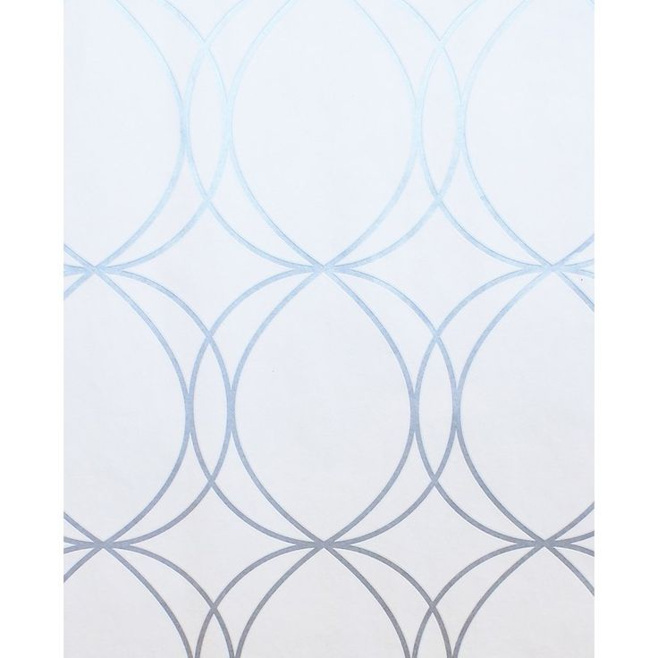 Shop Superfresco Easy Halo Circles Wallpaper in White