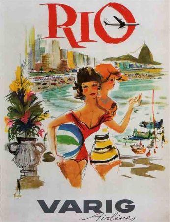 Rio - Varig Airlines (1963)
