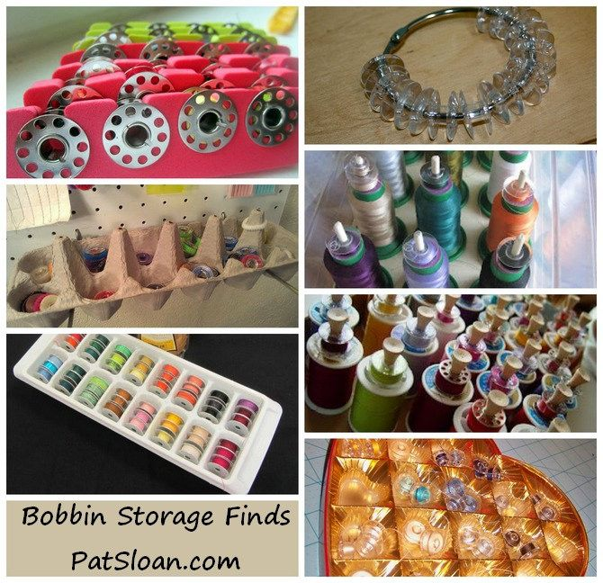 Pat Sloan: Tool Talk! - Pat Sloan's Blog How do you store your bobbins?