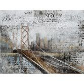 Found it at Wayfair - Yosemite Home Decor Revealed Artwork Across The Bridge Canvas Wall Art
