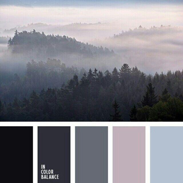 Purple And Gray Living Room