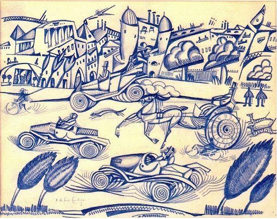 Motion.Amadeo de Souza Cardoso 1912