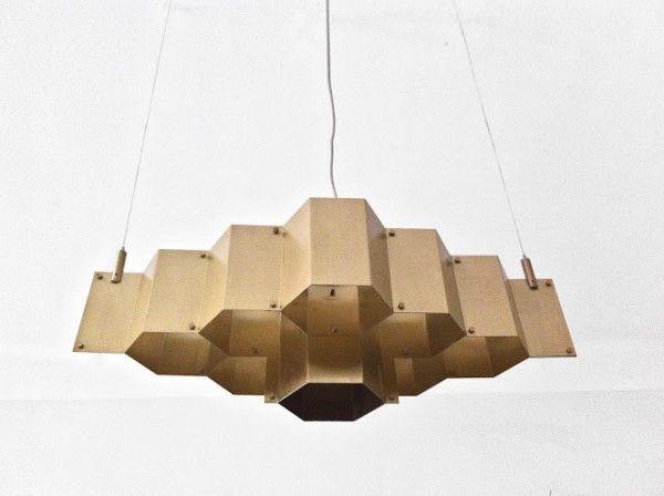 Pietro Russo - Hexagon Light Fixture