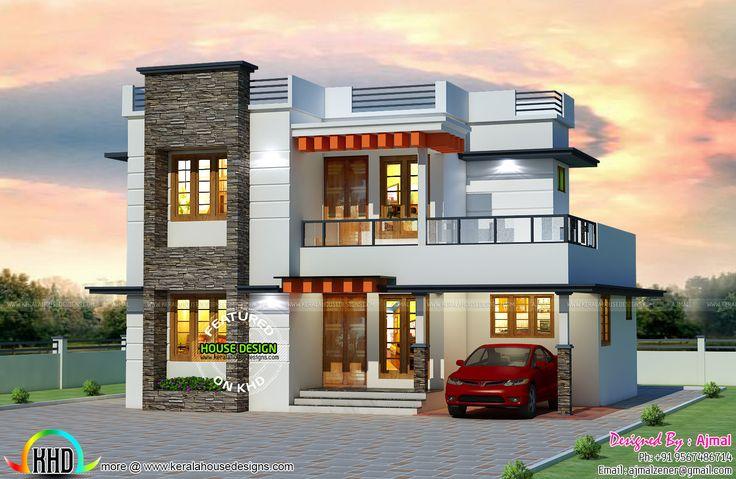 25 Lakhs Cost Estimated Kerala Home Kerala House Design