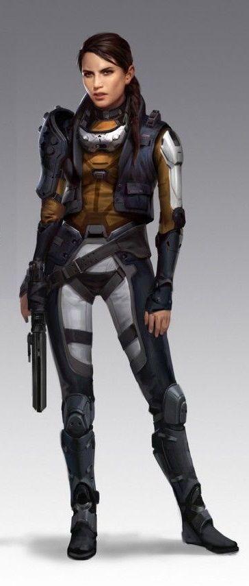 Enoya Ferizada. Galyrian agent.