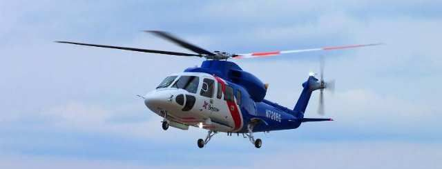 Sikorsky Aircraft for Bristow's Offshore Oil Service
