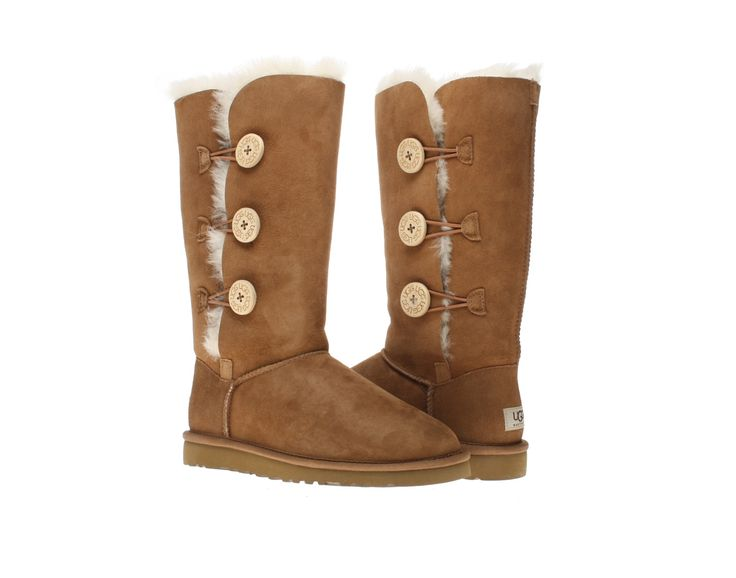 ugg australia womens bailey button triplet button boots chestnut