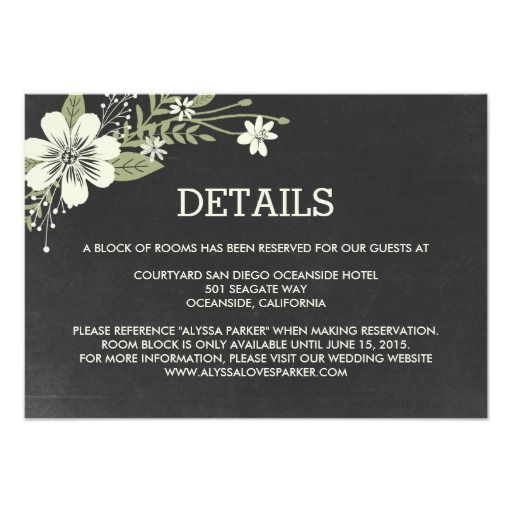 Wedding Invite Enclosures: 379 Best Images About Wedding Reception Cards On Pinterest