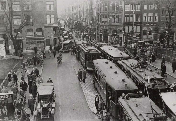 Leidsestraat Amsterdam (jaartal: 1920 tot 1930) - Foto's SERC