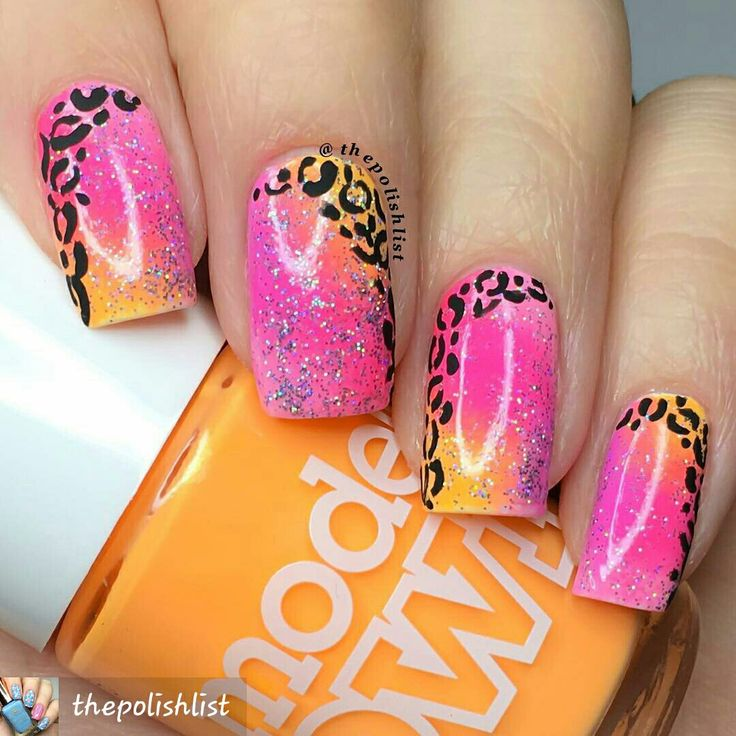 By #thepolishlist #prettynailart #leopardprint #leopardprintnails #nailartdesigns #naildesigns #nailartist #nails#nailpictures