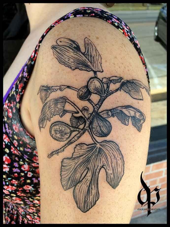 Fig Branch   MrDavidPoe   Tattoo Artist   Austin, TX