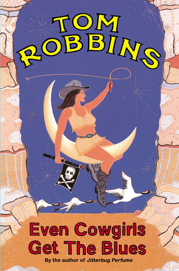 Even Cowgirls Get The Blues by Tom Robbins.... another favorite :) All of his books get me laughing out loud, no matter where I'm reading. I get some funny looks when I'm reading in public, lol.