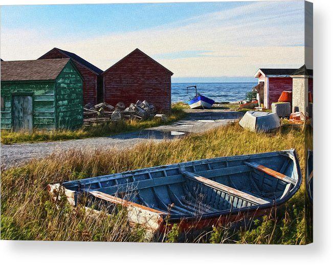 Gros Morne National Park, Canada Acrylic Print  by Tatiana Travelways #GrosMorne #nationalparks #Canada #newfoundlandandlabrador #coastalliving #ArtPrint