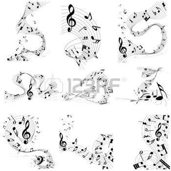 Relativ Plus de 25 idées uniques dans la catégorie Note de musique dessin  MQ69