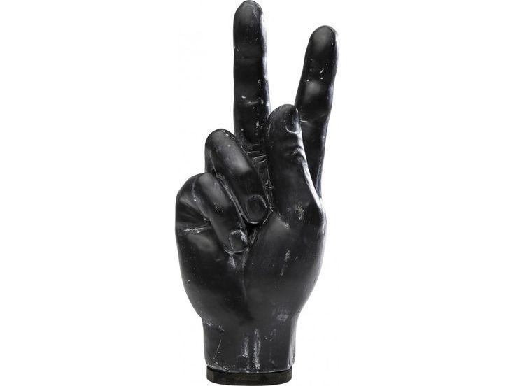 Figurka Dekoracyjna Peace Sign — Figurki dekoracyjne — KARE® Design