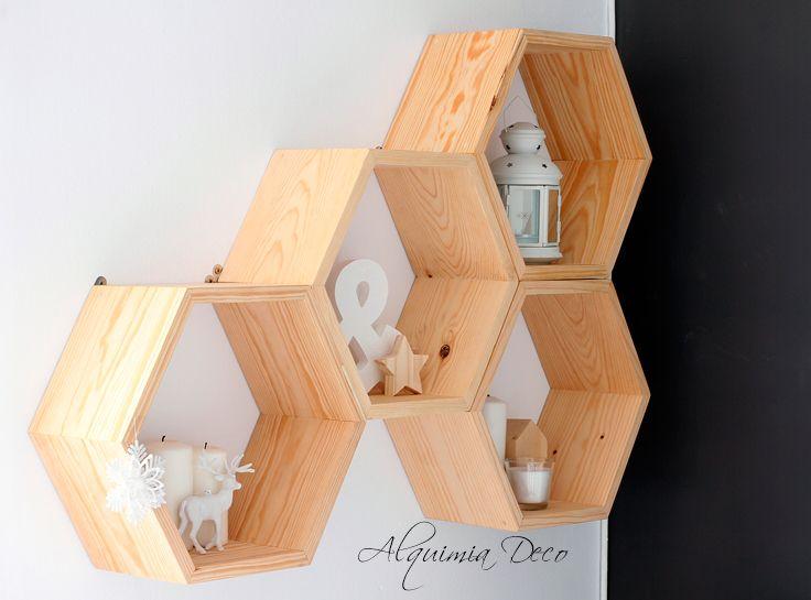 Alquimia deco nuevas estanter as en casa proyectos que - Alquimia deco ...