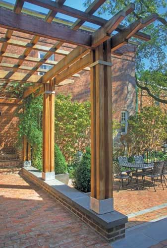 Wood Trellis Construction Details Woodworking Projects