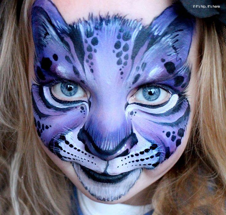 halloween makeup cats | Inspiring Children's Makeup For Halloween - if it's hip, it's here