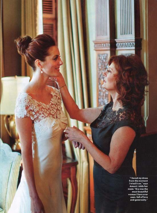 anna bé bridal boutique - SHOP TALK - This just in! Lela Rose gown on Susan Sarandon's daughter...