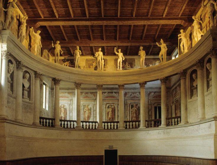 Sabbioneta, Lombardia - Teatro Olimpico