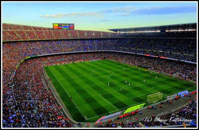 Travel in Clicks: Camp nou