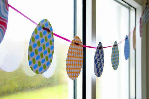 DIY: Easter Garland
