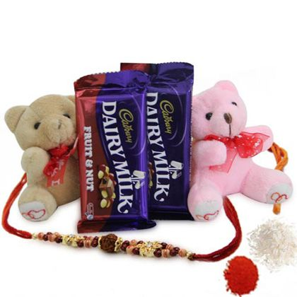 Send your hearty wishes to your siblings in Bangalore with Raksha Bandhan gifts and flowers from Bangaloreflorist.co.in here we understand your emotions and hence deliver the best quality product to Bangalore to your loved ones. Contact us: +91-8288024442