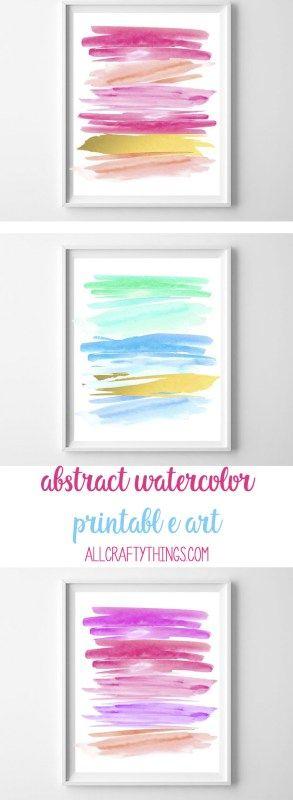 abstract printables