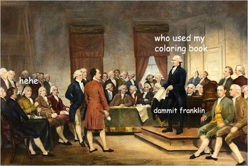 Untold adventures of George Washington - Imgur