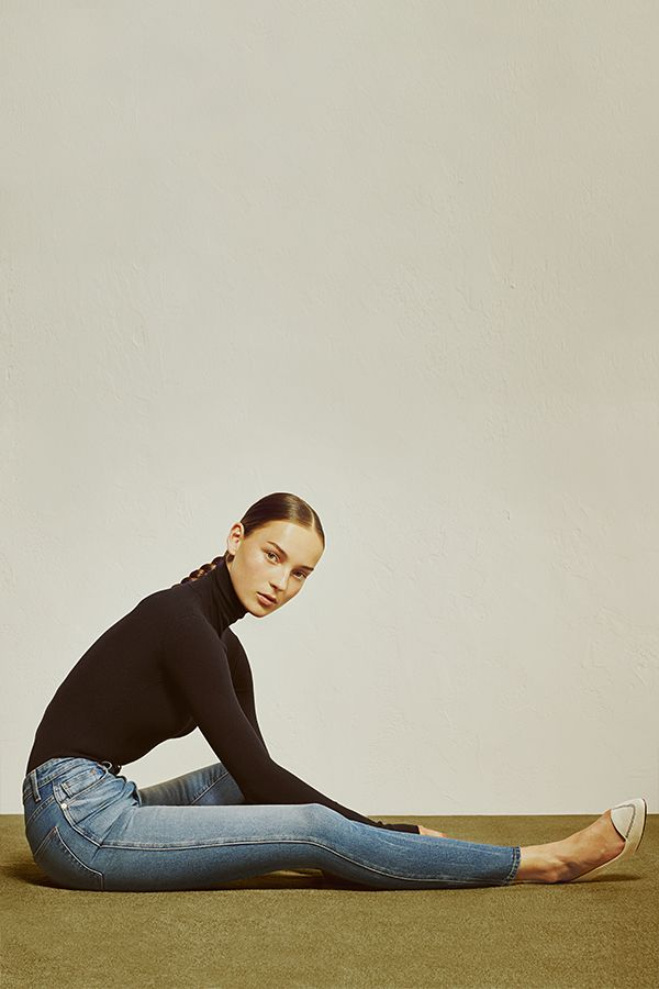 Focused on infusing effortlessness into daily dressing, denim is at the heart of Khaite. The collection's signature variations of the five-pocket classic are now back in stock, exclusively at The Line