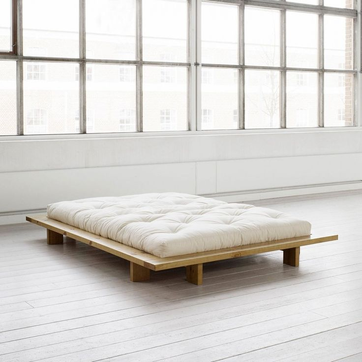 the minimalist karup japan bed complements any decor slat frame included solid pine - Tatami Bed