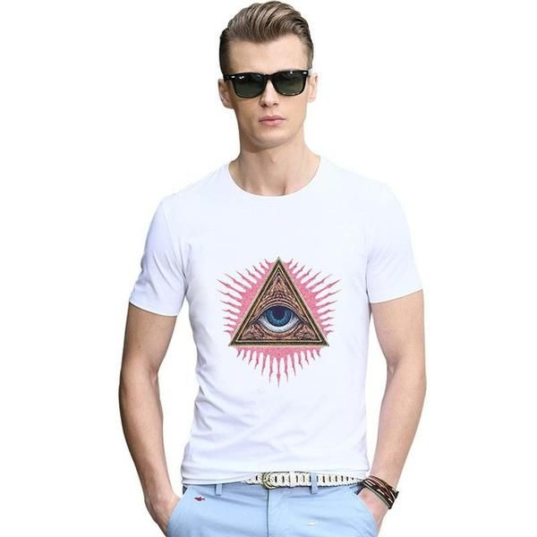 Famous Brand T Shirts Design Print Hip Hop Men T-shirt