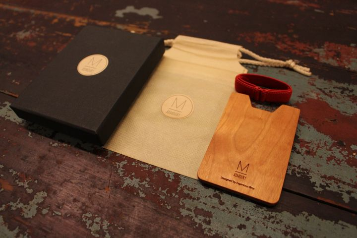 Armoury M Wooden Wallet by IngeniousBros  accessories fashion design 2