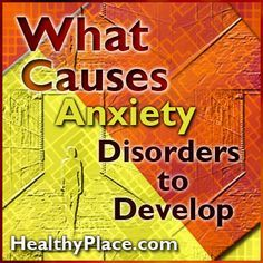 Learn what causes anxiety disorders. Heredity, brain chemistry, personality and…