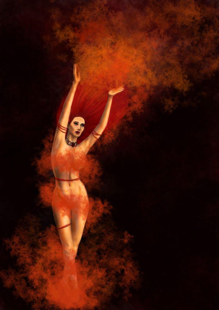 Red Priestess by cherrybbomb.deviantart.com on @DeviantArt