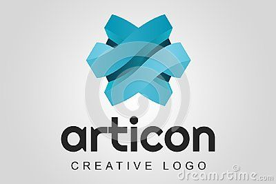 Asrticon: a modern abstract logo that can be used in different types of companies such as software and application developers, agencies and design studios, media agencies, technology companies, among other uses.