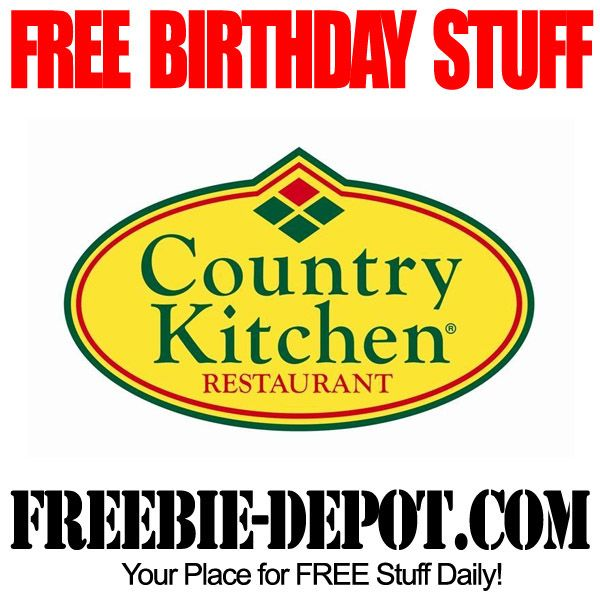 Birthday Freebie Country Kitchen Free Bday Meal