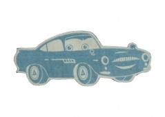 Cars figure rug