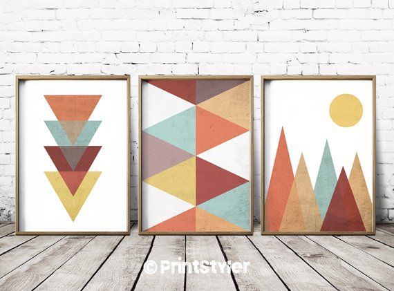Geometric Art Prints Geometric Wall Art Geometric Art Nordic Etsy Geometric Art Prints Geometric Art Geometric Wall Art
