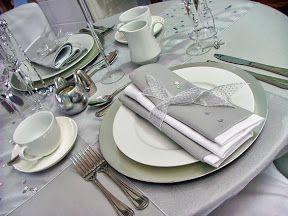 Boda en Plata con tonos blancos y grises