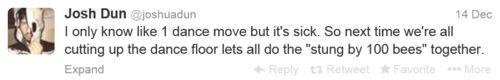 josh dun tweet | and sometimes Josh Dun is like