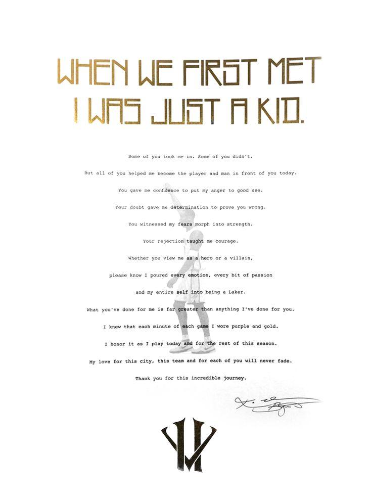 45 best 》Los Angeles Lakers《 images on Pinterest - retirement letter