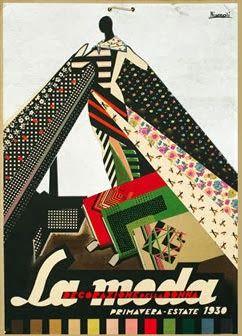 Bernocchi - industria tessile - Moda primavera-estate -  Marcello Nizzoli - 1930