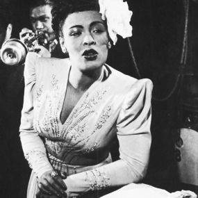Billie Holiday: Icons Women, Billy Holidays, Billie Holiday, Black Hair, Lady Singing, Billy Holidayladi, 1940 Music, Billy Holliday, Black Women