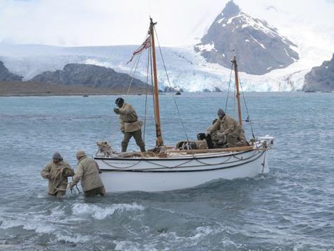 'Endurance', 100 años de la mayor hazaña en la conquista de la Antártida | Reedición del viaje de Shackleton a bordo del 'James Caird' hacia las islas de Georgia del Sur
