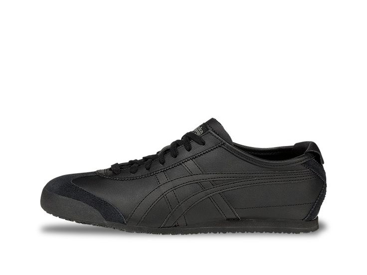 The iconic Mexico 66® model was born in 1966 and debuted at the 1968 Olympic games pre-trials in Mexico with a premium white leather, stitched with red and blue tiger stripes. Today, the classic runner has been reawakened and remains to be the most popular shoe in the Onitsuka Tiger® collection. Since its revival, the heritage racer gets the full-grain leather treatment on the side panels and tiger stripes, while the heel and toecap are finished off with a smooth suede, accompanied by a…